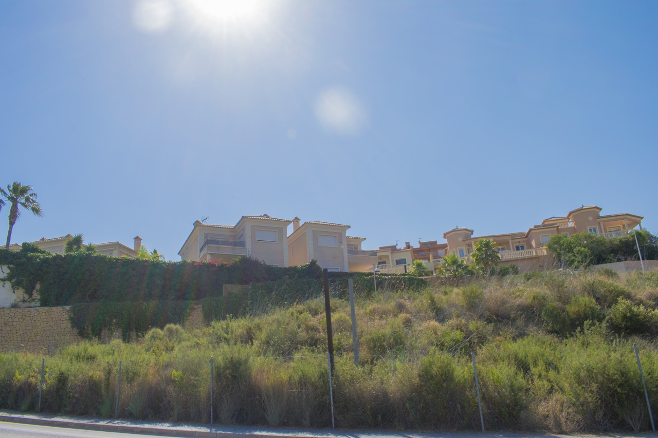 Plot te koop in Calpe